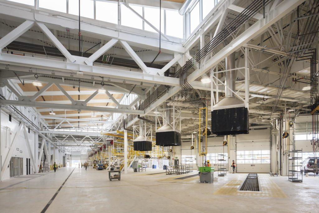Hamilton Transit Centre maintenance bays