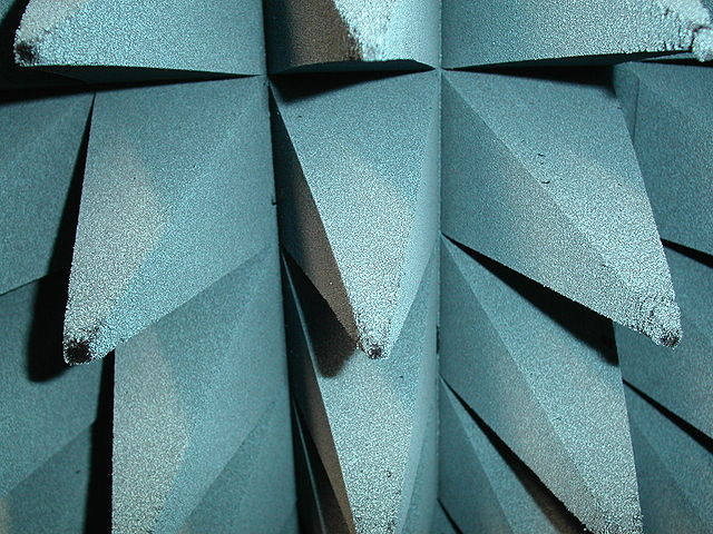 reverberation time-anechoic chamber