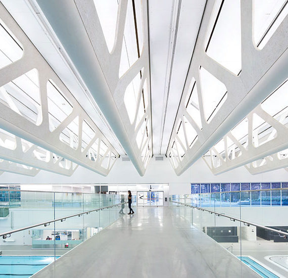Guildford Aquatic Centre Interior