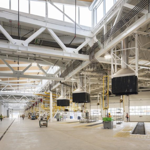Hamilton Transit Centre-maintenance bays