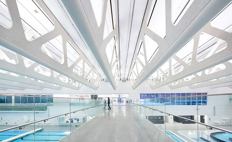 Guildford Aquatic Centre Interior