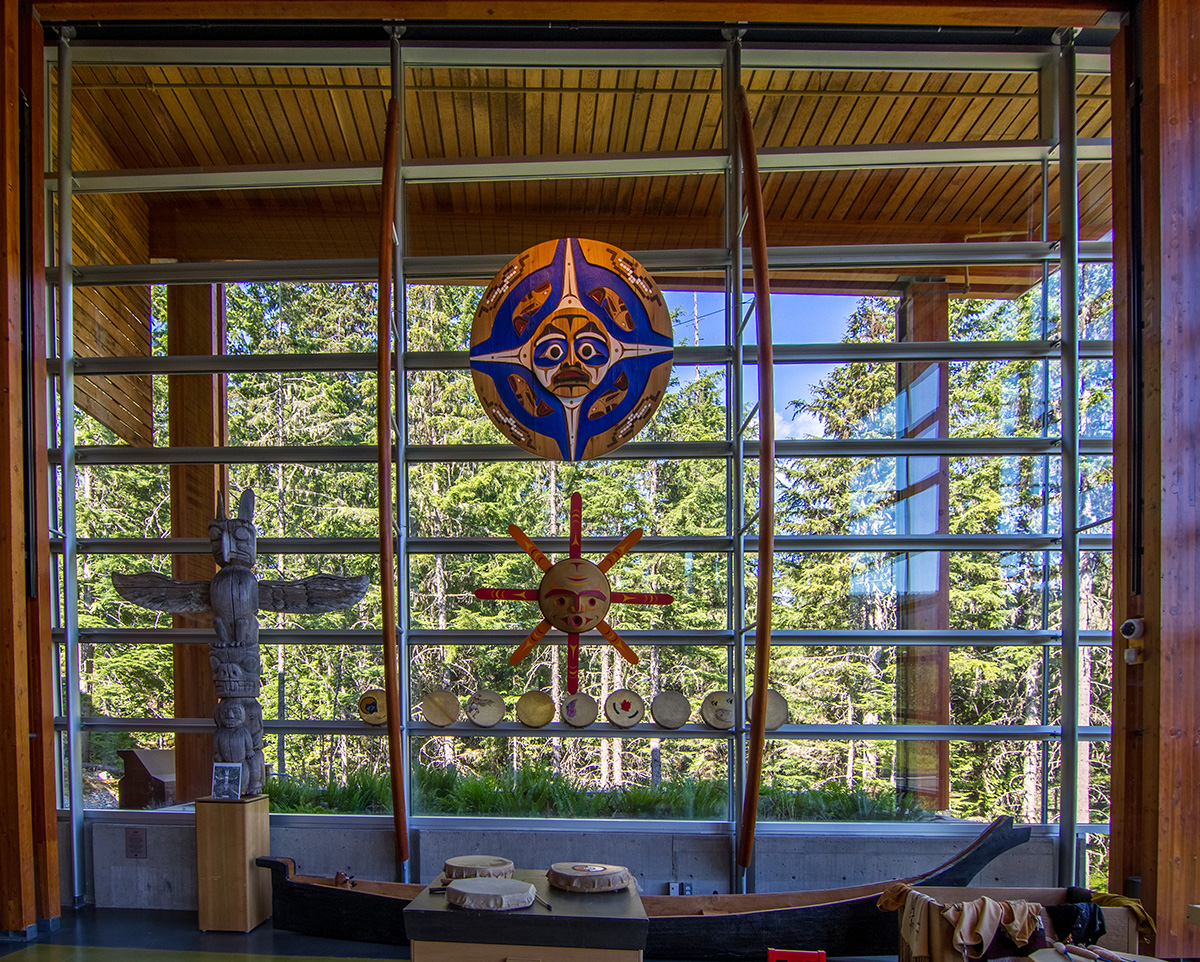Squamish Lil'wat Cultural Centre Great Hall