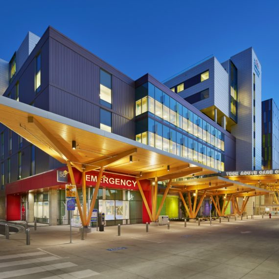 Teck Acute Care Centre — Hospitals and Healthcare Facilities Acoustics